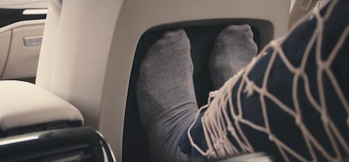 Новый Audi A8 получит функцию массажа ног