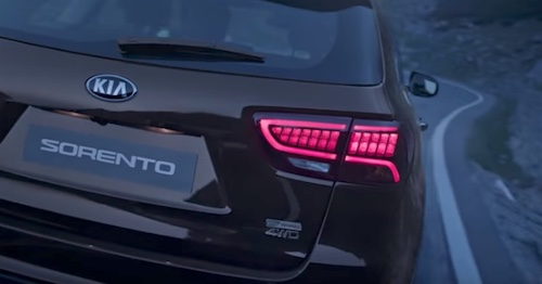 Компания Киа презентовала улучшенный флагманский вседорожный автомобиль Sorento 2017