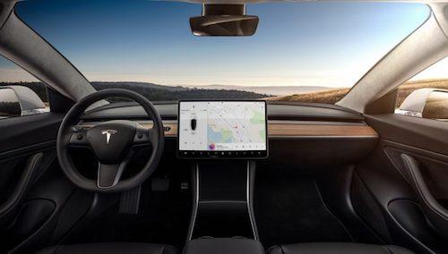 Электромобиль Tesla Model впервые показали на фото