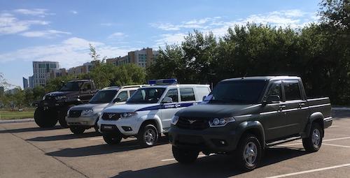 УАЗ отзывает неменее 70 тыс. авто