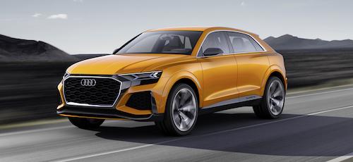 Четыре новых модели Audi представят в 2018 году
