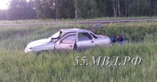 Под Омском нетрезвый 18-летний шофёр «отправил» в поликлинику девятиклассницу