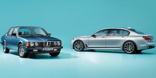 BMW привезет на российский рынок шесть седанов 7-Series Edition 40 Jare