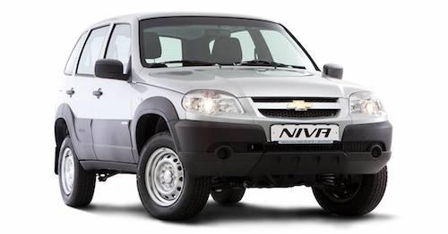 Росстандарт сообщает оботзыве 2 736 авто Шевроле NIVA