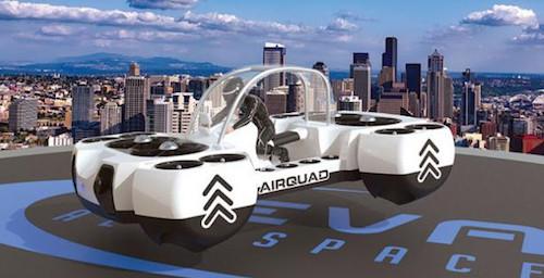 DeLorean AeroSpace презентовала концепт-кар  летающего автомобиля DR-7