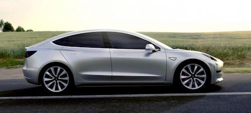 Серийная сборка бюджетной Tesla Model 3 стартует 7 июля