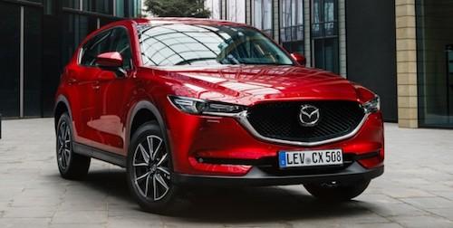Mazda CX-5 2017 получила максимальный балл за безопасность от IIHS