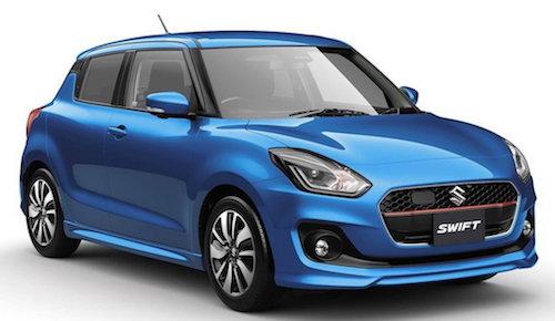 Новый Suzuki Swift может выйти в продажу в России в 2018 году