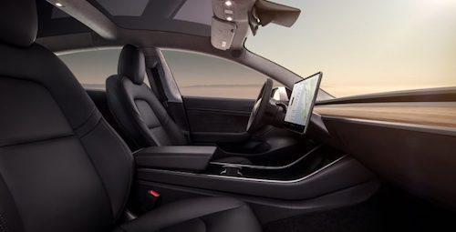 Стоимость электрокара Tesla Model 3 составит приблизительно  до44 тыс.  долларов
