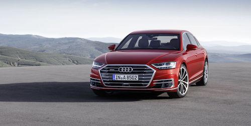 Опубликованы официальные фото нового Audi A8 2017