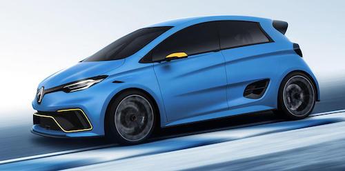 Renault в 2020 году планирует выпустить 460-сильный электрокар Zoe