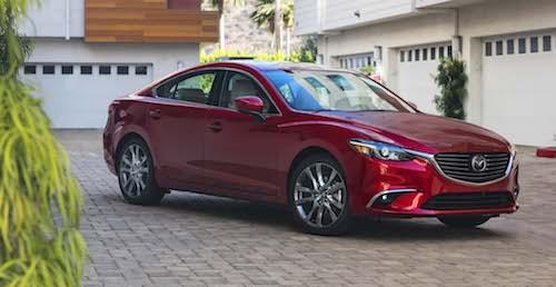 Автомобиль Mazda 6 может стать одним из самых лучших седанов 2017 года