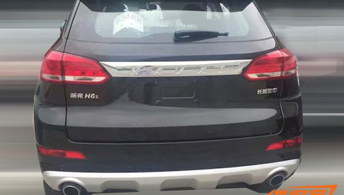 Great Wall готовится к старту продаж нового версии Haval H6