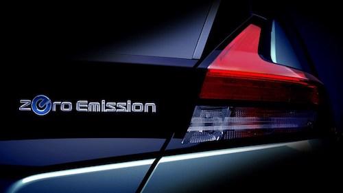Ниссан объявил дату официальной премьеры нового электромобиля Leaf