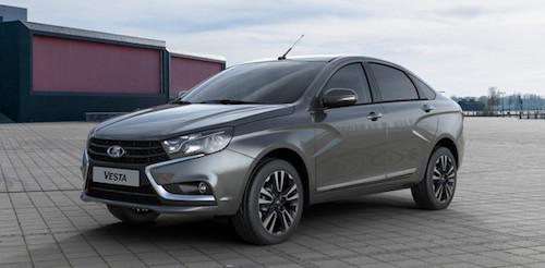 «АвтоВАЗ» готовится к началу продаж новых версий седана Lada Vesta