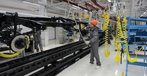 Компания «УАЗ» запустила вторую сборочную линию
