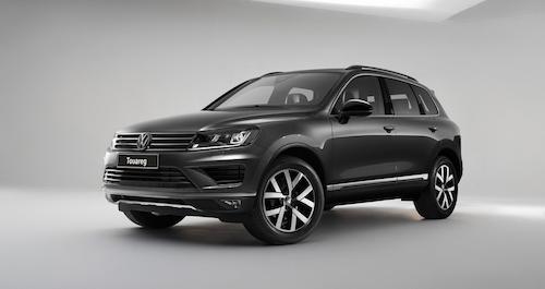 В Российской Федерации вышла специальная версия VW Touareg