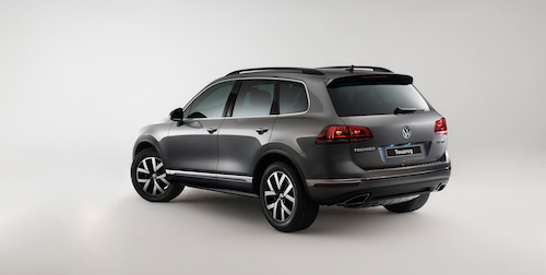 VW Touareg получил спецверсию для РФ