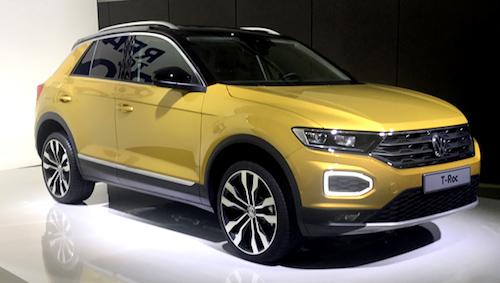 VW  представил электрический кроссовер сзапасом хода до500км