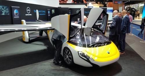 ВоФранкфурте была презентована заключительная версия летающего автомобиля отAeromobil