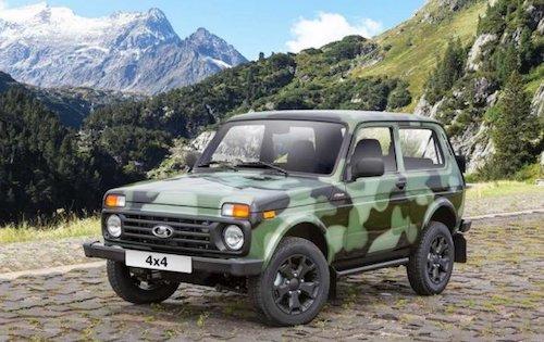 Lada 4х4 в «камуфляже» и еще 3 новинки АвтоВАЗ покажет на тольяттинском салоне