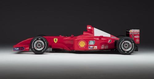 Нааукционе вНью-Йорке продадут болид F2001 Михаэля Шумахера