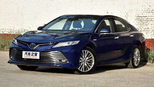 Улучшенный клон Тойота Camry поступил в реализацию