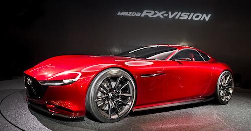 Мазда покажет намоторшоу вТокио роторный концептуальный автомобиль