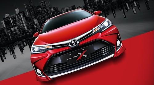 ВТайване представлена «спортивная» версия седана Toyota Corolla Altis X