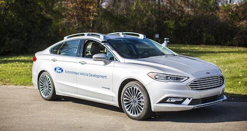 Форд выпустит «беспилотник» для каршеринга через 4 года