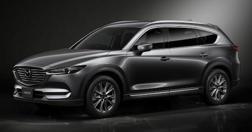 Mazda представила абсолютно новый кроссоверCX