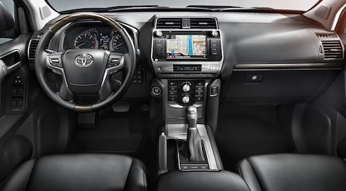 Toyota LandCruiser Interior 01
