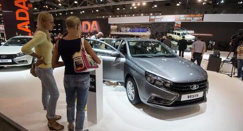 Основным открытием автомобильного салона воФранкфурте будет Лада Vesta