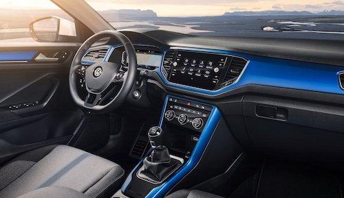 Цена VW T-Roc 2018 составила 1,4 млн руб.