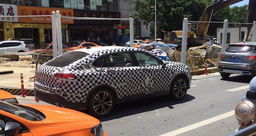 Вweb-сети  появились шпионские фото нового кросс-купе Bisu BT7