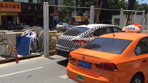 Размещены шпионские фотографии нового кросс-купе Bisu BT7
