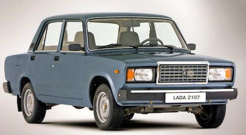 Названы самые распространенные модели авто в Российской Федерации