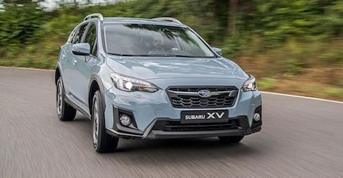 Субару обновит модельXV в РФ