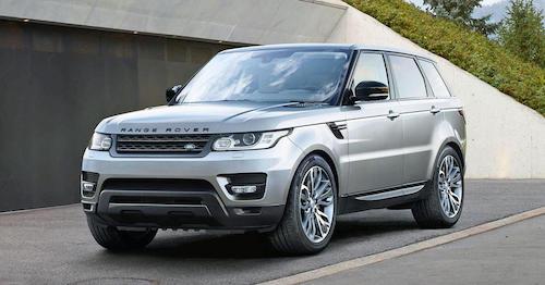 1-ый гибридный Range Rover произведут в2017г