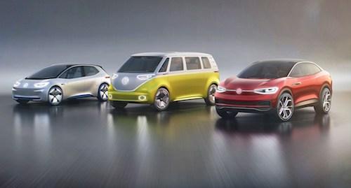 VW к 2030-ому году создаст электрические версии всех собственных моделей