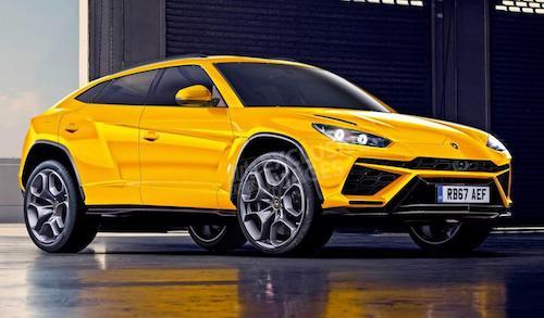 Lamborghini определились сднем имесяцем премьеры нового джипа Urus