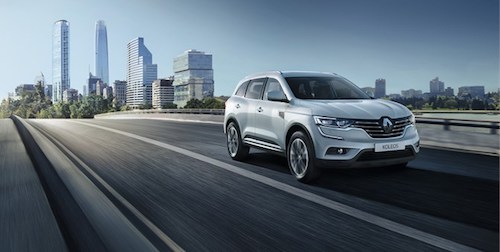 В РФ стартовали продажи дизельной версии нового Рэно Koleos