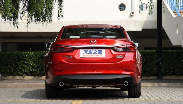 Компания Мазда провела рестайлинг Мазда 6 для рынка Китайская республика