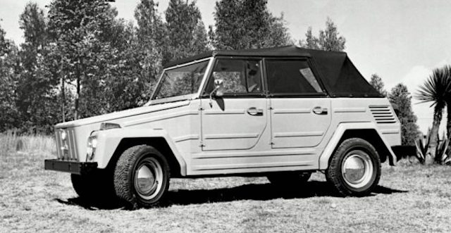 VW решил возродить джип Kubelwagen