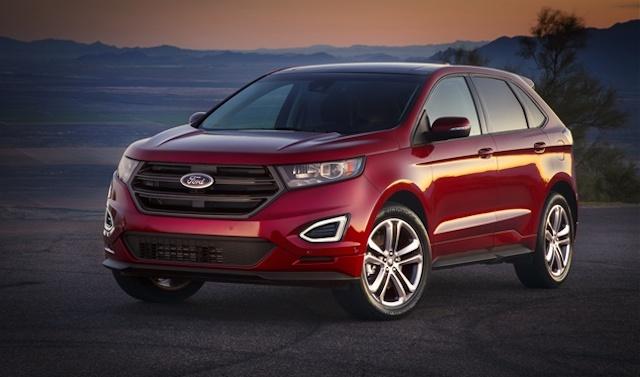 В Китае стартовали продажи обновленного кроссовера Ford Edge