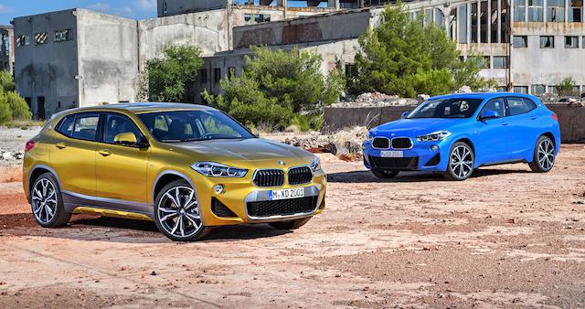 Новый BMW X2 выйдет в продажу в России в марте 2018 года