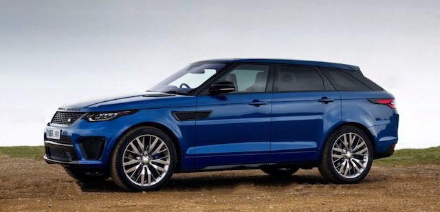 Названы цены на обновленный Range Rover Sport для России