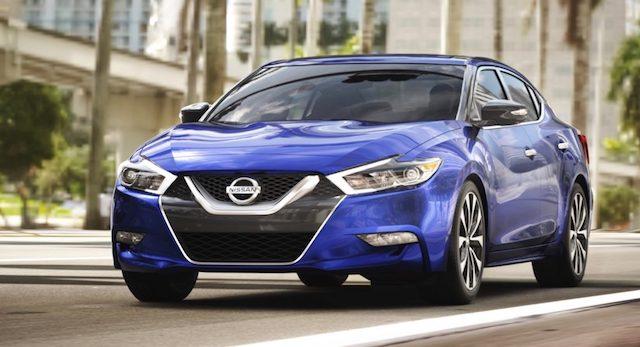 Компания Ниссан начала продажи новой версии седана Maxima