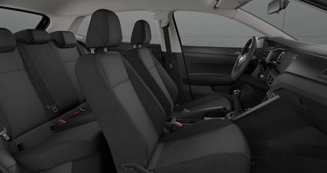 Скучный интерьер нового Volkswagen Polo в базе шокировал журналистов