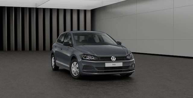 Вглобальной сети появились фото интерьера простой комплектации обновленного поколения VW Polo